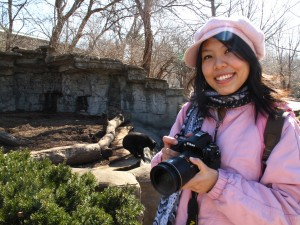 Simin at St. Louis Zoo