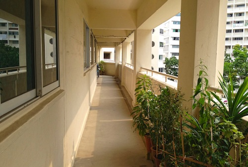 Corridor Roof Design: My Grandma's Stories: A Roof Over Our Heads