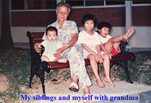 Ah Ma and her grandchildren