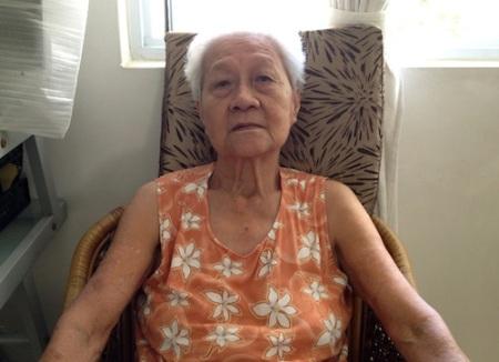 Grandma today