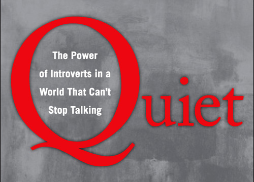 power of introverts and introversion In quiet: the power of introverts in a world that can't stop talking, susan cain   the book explores how where we land on the introvert-extrovert spectrum.