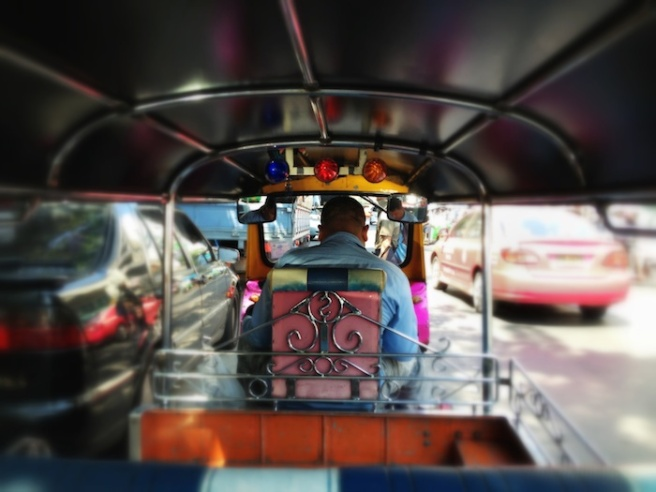 The notorious Tuk-tuk in Bangkok, anyone?